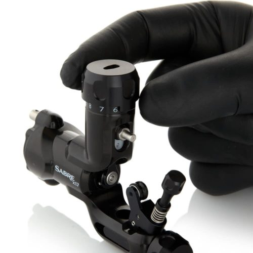 Sabre tattoo machine X17 jet black 2