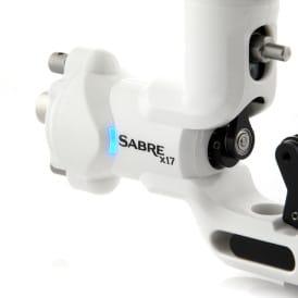 Sabre tattoo machine X17 Polar White 5