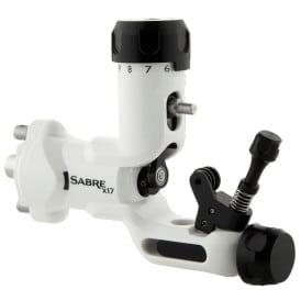 Sabre tattoo machine X17 Polar White front