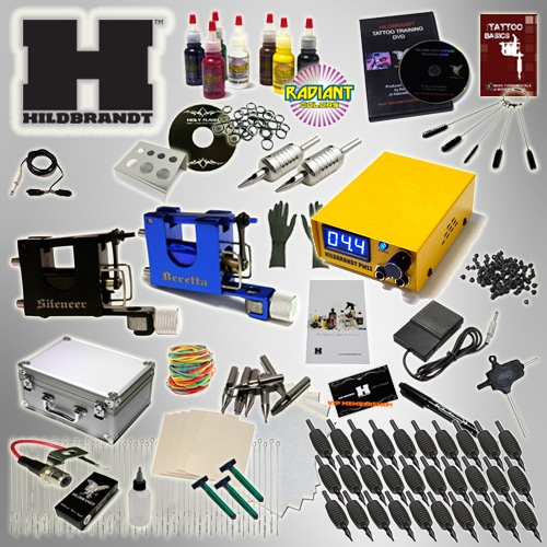 Tattoo Kits: Tattoo Gun Kits & Tattoo Starter Kits