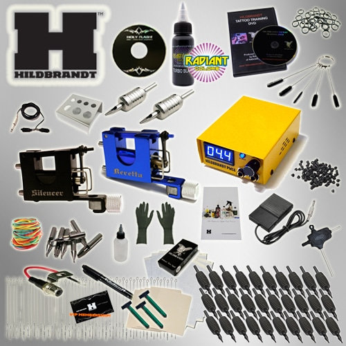 Hildbrandt Mini Rotary Tattoo Machine Kit, tattoo kit sale