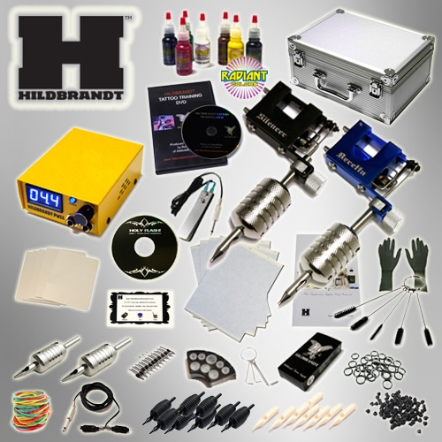 hildbrandt rotary 2 machine tattoo kit gun machines guns
