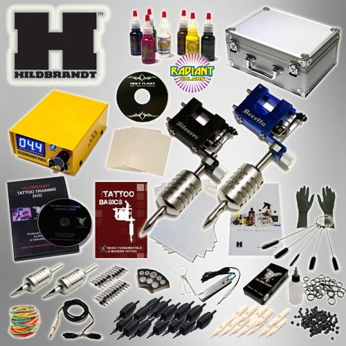 Hildbrandt advanced rotary tattoo kit new tattoo kit for Starter tattoo kits