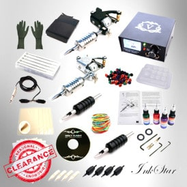 Tattoo Kit: Inkstar 2 Machine Mini Starter Kit