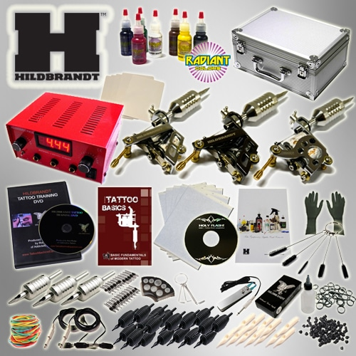 the hildbrandt professional tattoo supply kit system 2