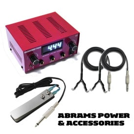tattoo power supply abrams