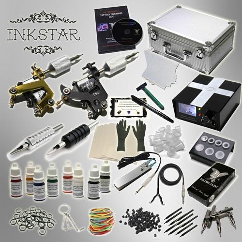 tattoo kit inkstar journeyman 2 tattoo machine kit case