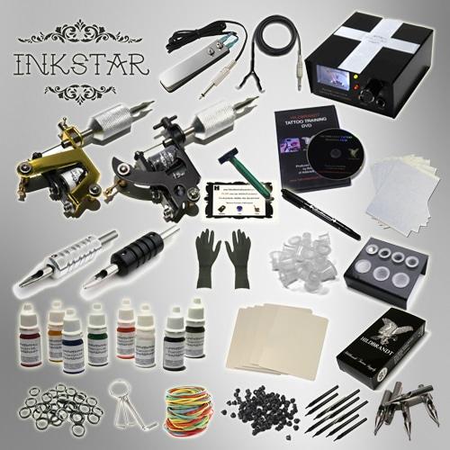 Complete Tattoo Kit Professional Inkstar 2 Machine