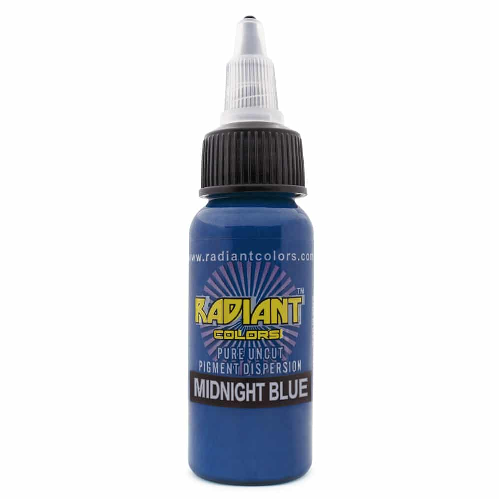 radiant colors tattoo ink midnight blue