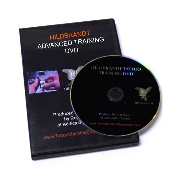 Hildbrandt advanced tattooing techniques dvd for How to tattoo dvd