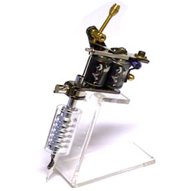 tattoo machine display