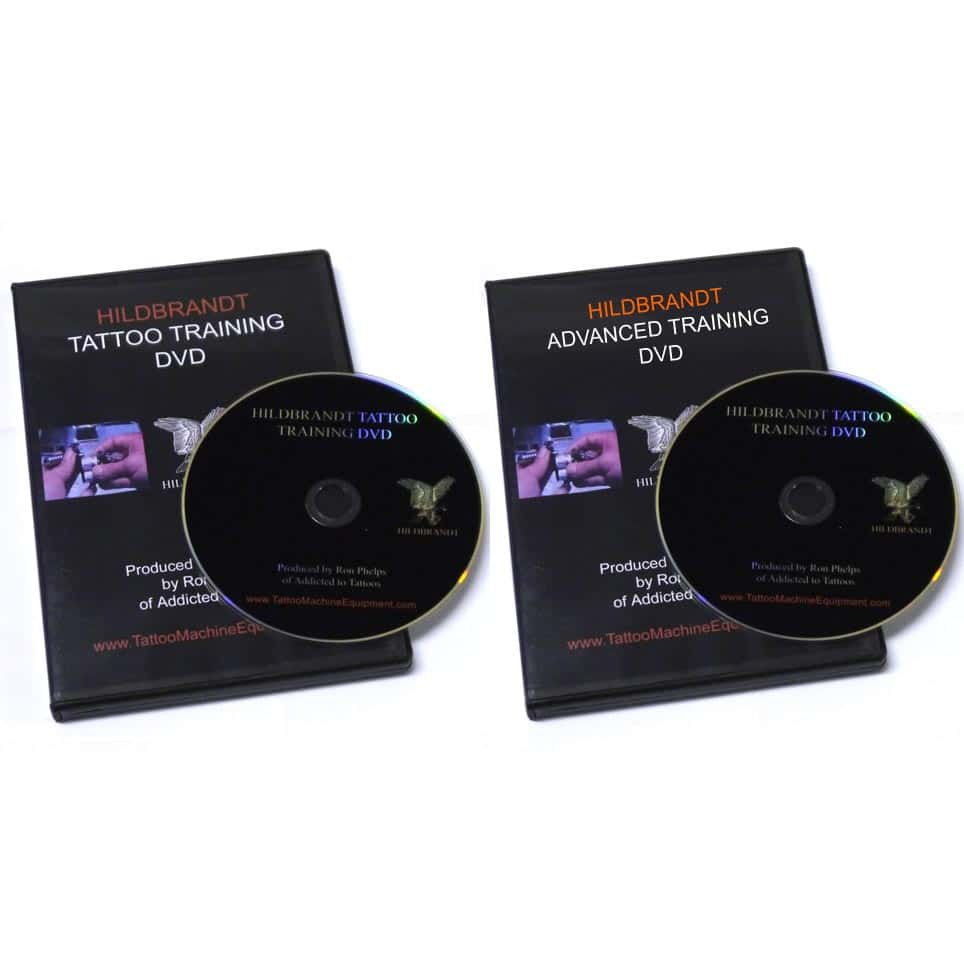 tattoo training dvd combo