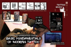 Basic Fundamentals of Modern Tattoo Book