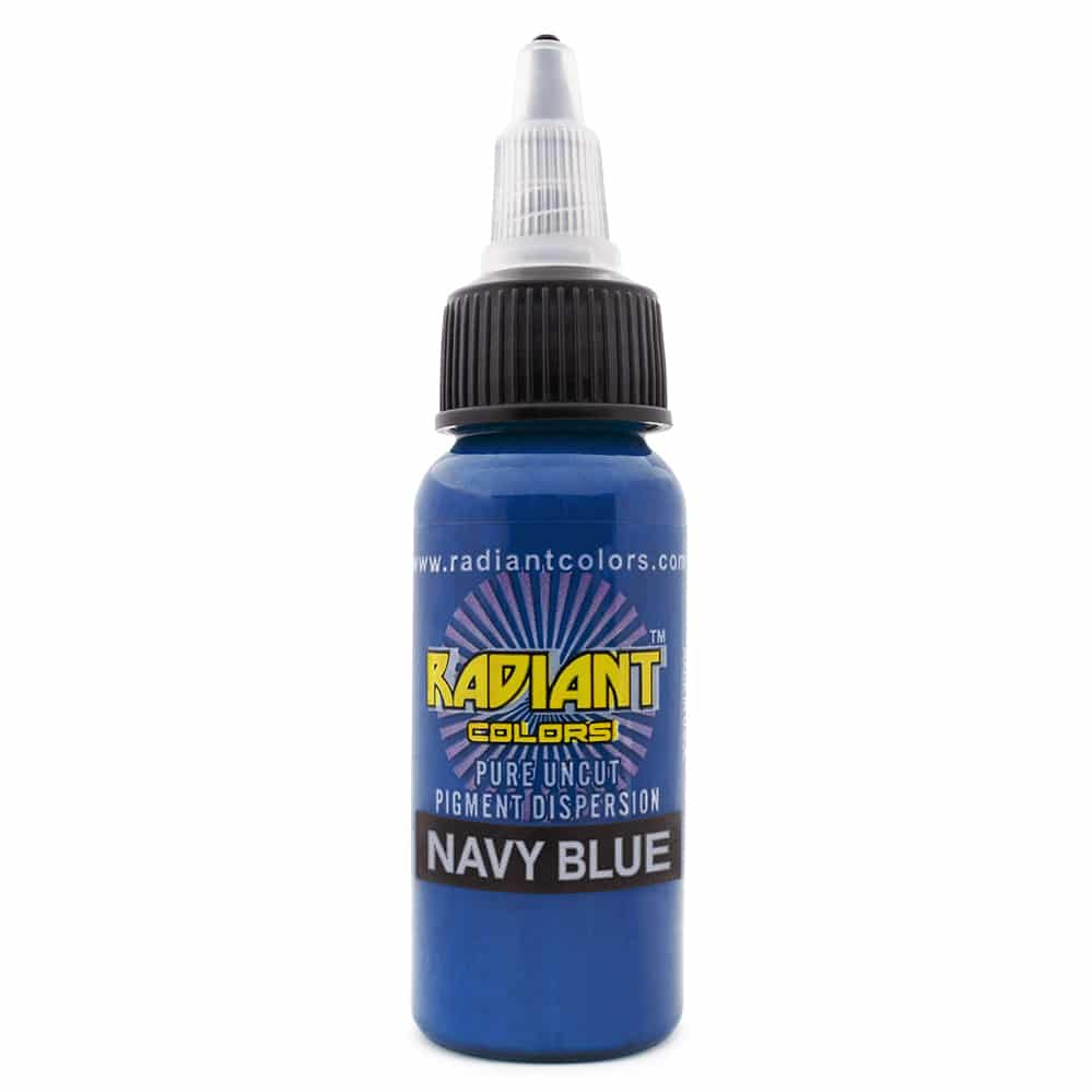 radiant colors tattoo ink navy blue