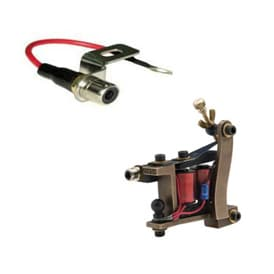tattoo machine rca mount silver