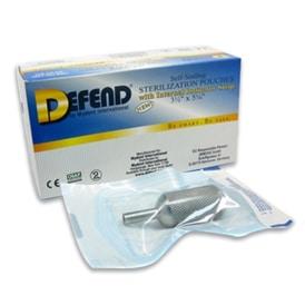 Defend sterilization pouches for autoclave for Tattoo sterilization equipment