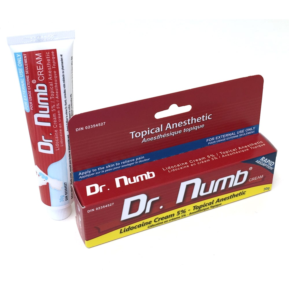 tattoo numbing cream: Dr. Numb Tattoo Topical Anesthetic Numbing Cream