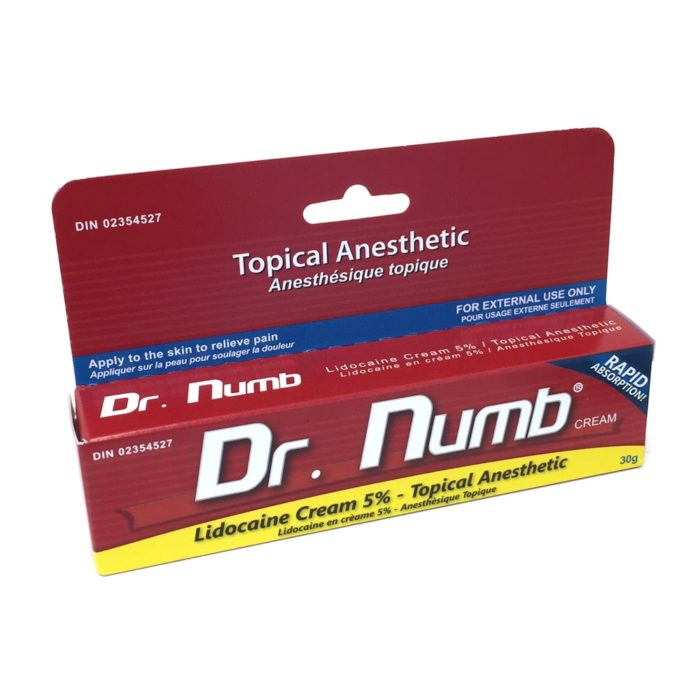 Dr Numb Anesthetic Tatoo Cream