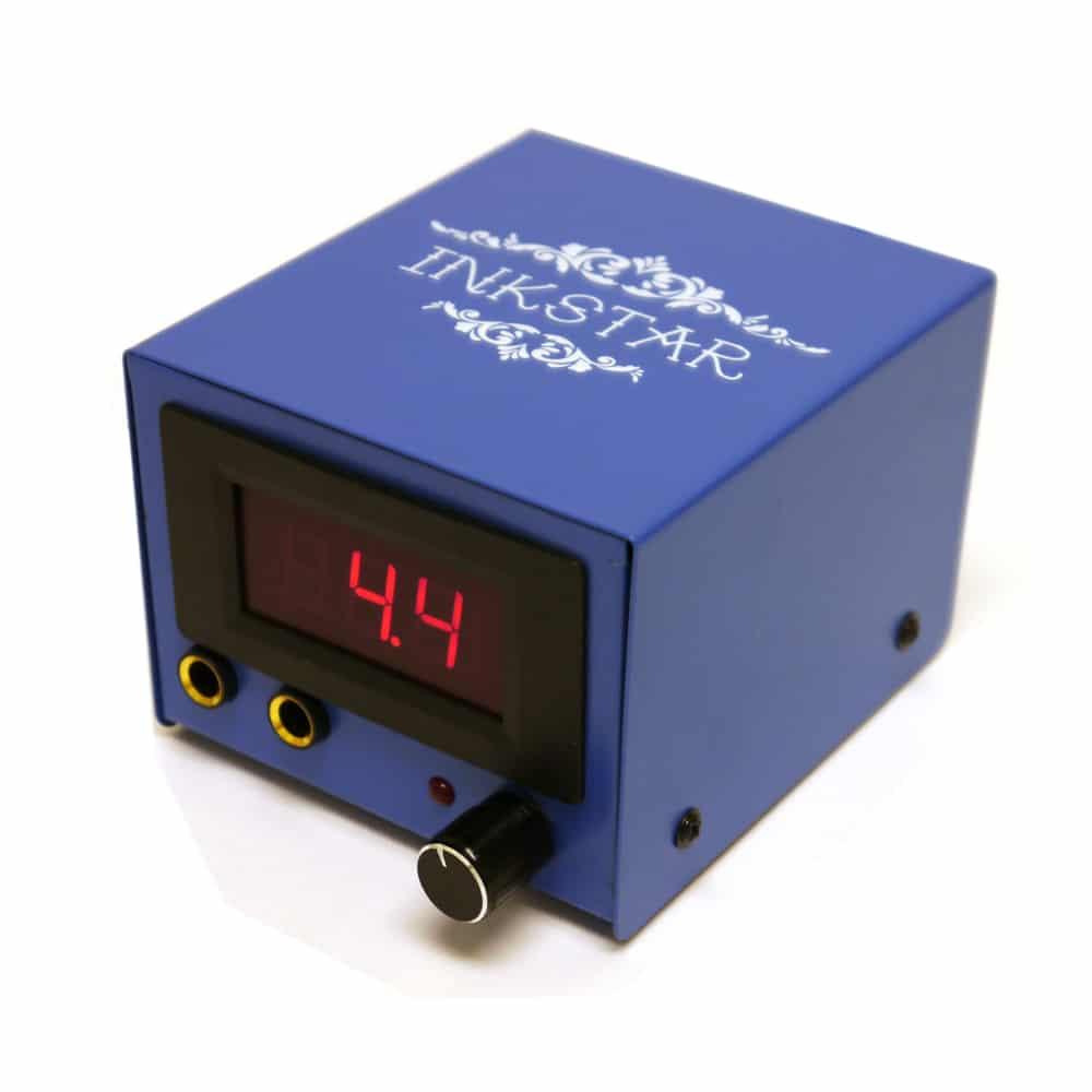Inkstar Blue Box Tattoo Power Supply For Tattoo Machines