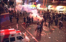 Vancouver Canucks Riot