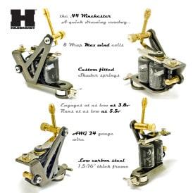 Hildbrandt Tattoo Gun 44 winchester