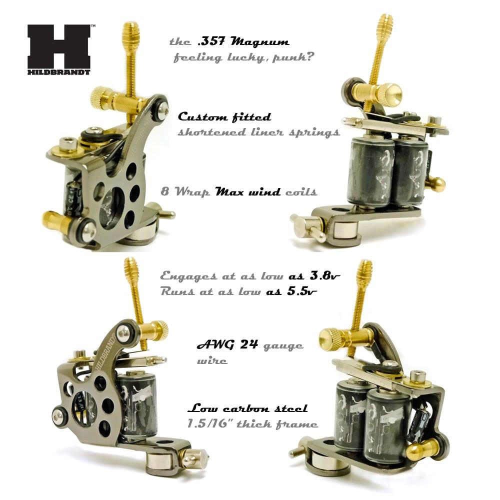 Hildbrandt tattoo supply 357 magnum tattoo machine gun liner for Tattoo liner machine