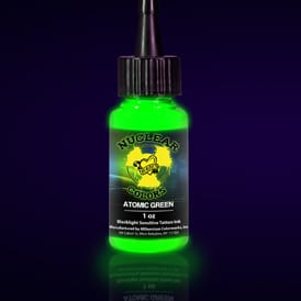uv tattoo ink green