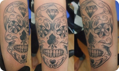 Allie Sugar Skull WS