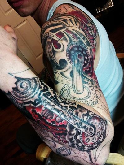Bionic arm Tattoo