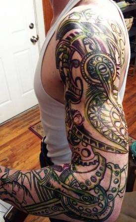 bionic man tattoo