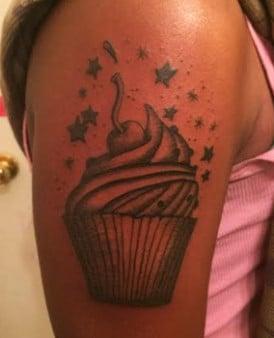 Cup Cake Tattoo