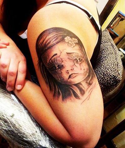 Dark Beauty Tattoo