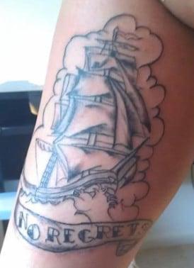 Donny Skiest Tattoo