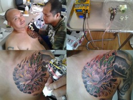 Jose Sagon Tattoo Artist