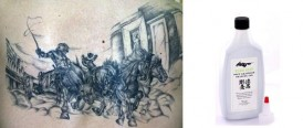 grey wash tattoo ink