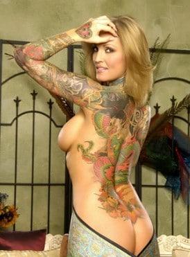 janine lindemulder tattoo 3
