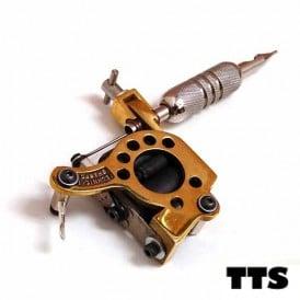 tts telephone dial brass
