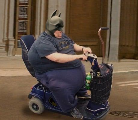 fat batman halloween costume
