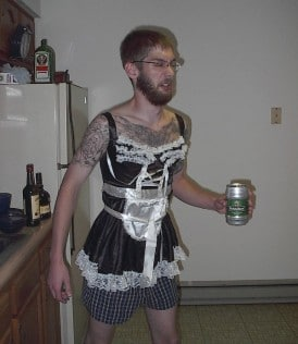 french maid costume halloween