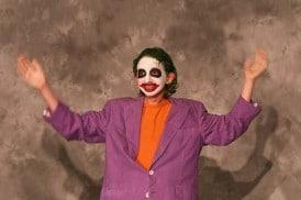 joker custome bad halloween