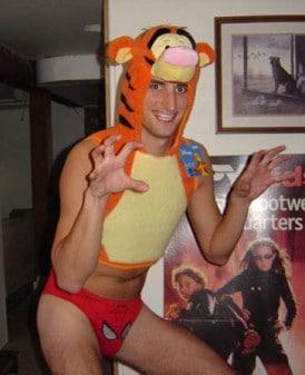 tigger gay costume man
