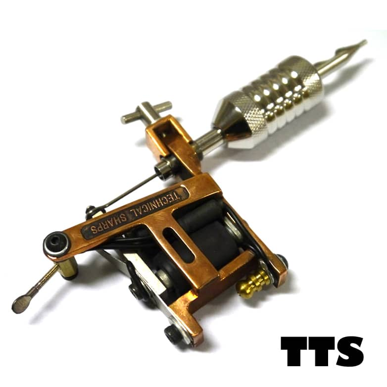 Technical tattoo gun 3