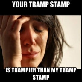 tramp stamp