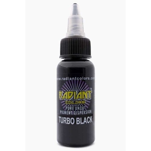 Radiant Colors Tattoo Ink Turbo Black