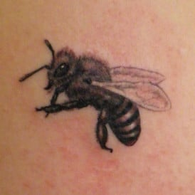 tattoo hungarian bee
