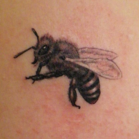 tattoo hungarian bee