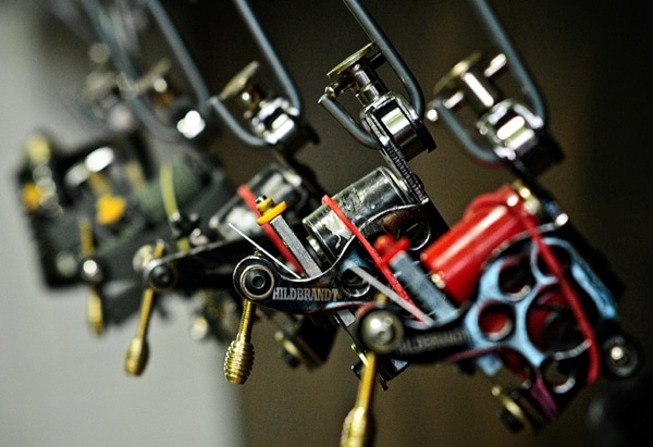 custom hildbrandt tattoo machines