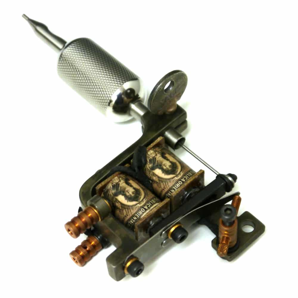 homemade rotary tattoo machine male models picture