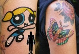 power puff girl tattoo