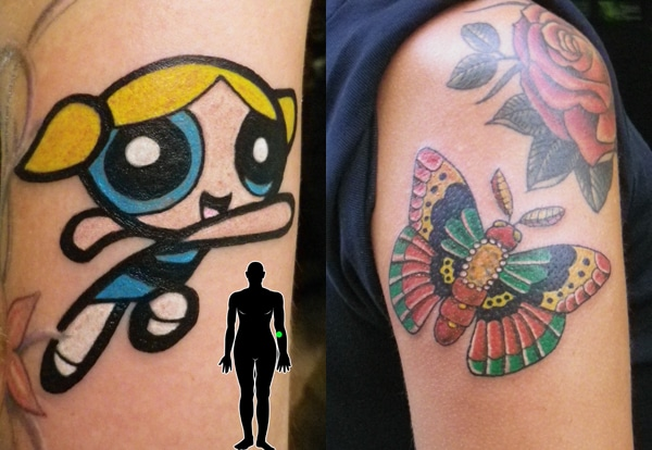 power puff girl tattoo